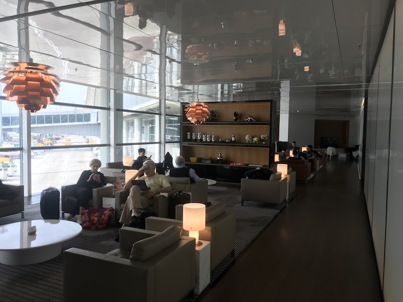 Priority Pass gets you access to lounges for free drinks, snacks, and sometimes even showers!