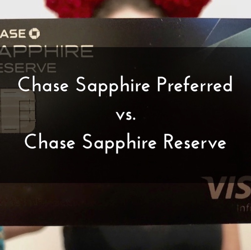 Need to choose between the Chase Sapphire Reserve and the Chase Sapphire Preferred? We've got you covered!