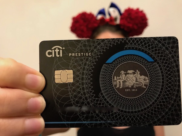 Our Citi Prestige, great for Disney stays!