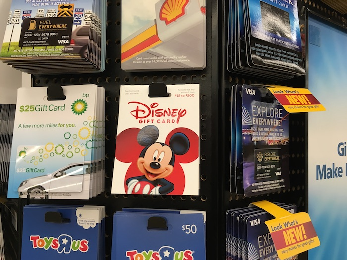 Discount Disney Gift Cards Guide - Mouse Hacking