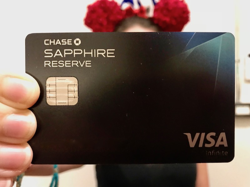 Our Chase Sapphire Reserve bill was a bit heavy after Tokyo Disney Resort.