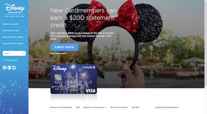 Disney Chase Visa Credit Card Review (2018 Edition) - Mouse