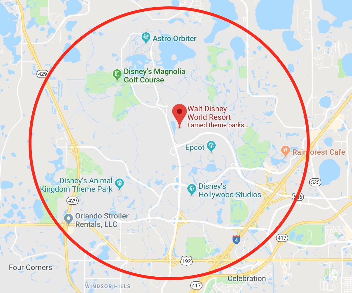 13 Basic Things To Know About Disney World [2019 Edition ... on blank map of st. vincent, blank map of black sea, blank map of english channel, blank map of western world,