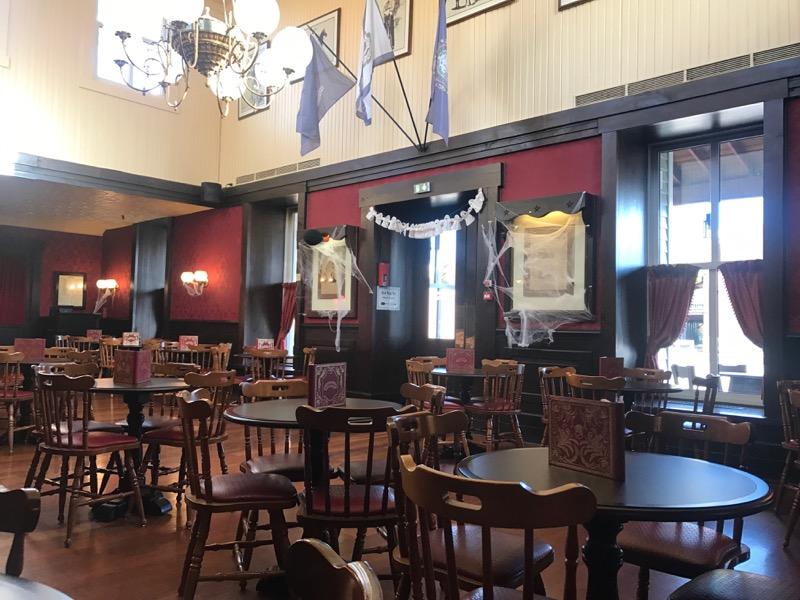 Empty space at Red Garter Saloon around 4PM