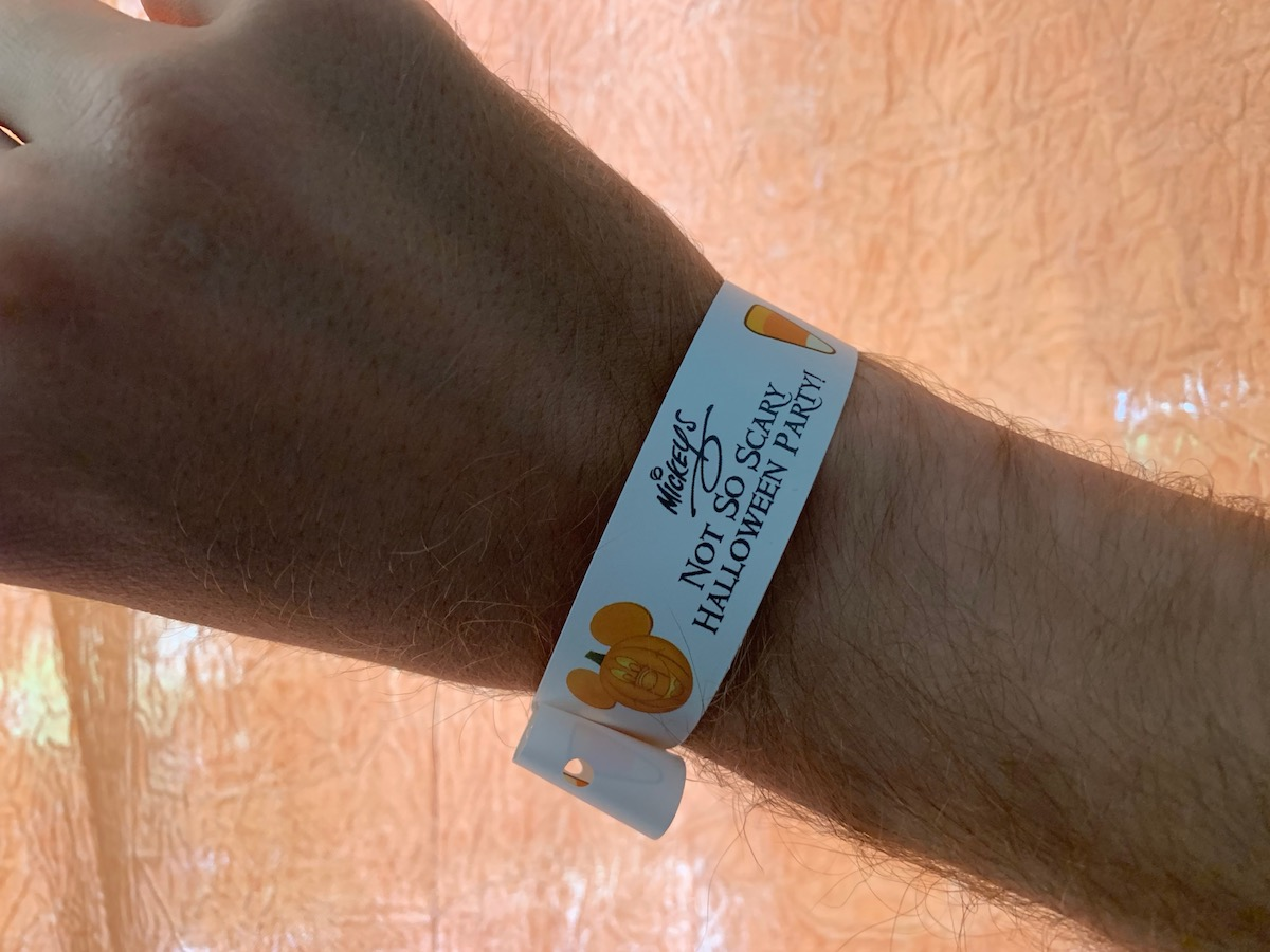 mickeys not so scary halloween party wristband.jpg
