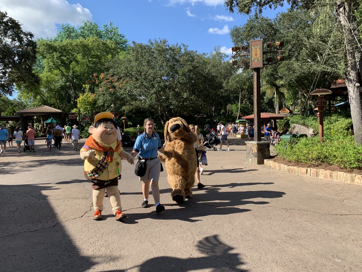 animal kingdom one day itinerary character doug.jpg