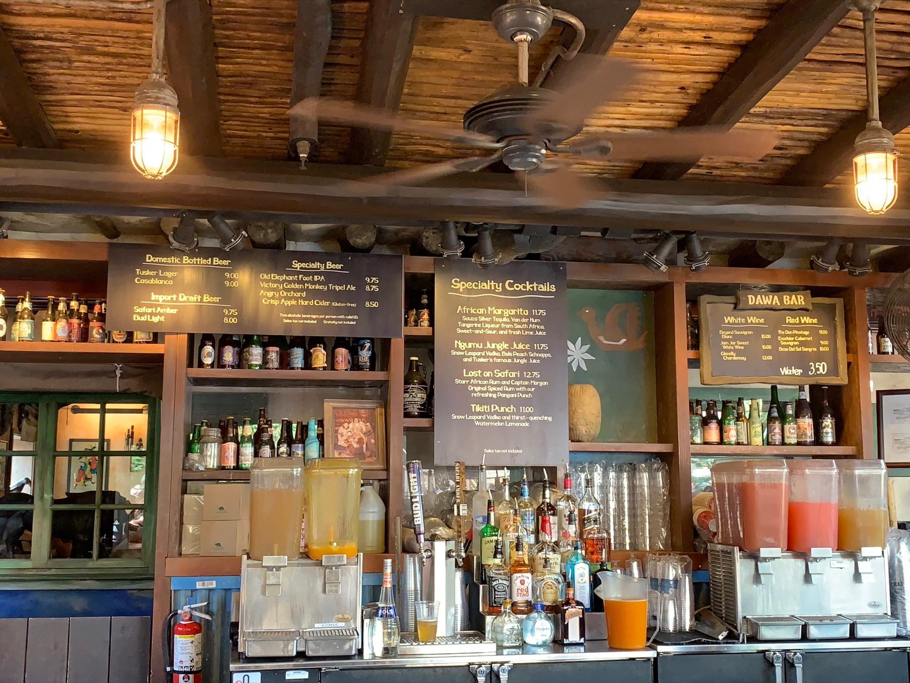 dawa bar 2 where to drink at animal kingdom.jpg