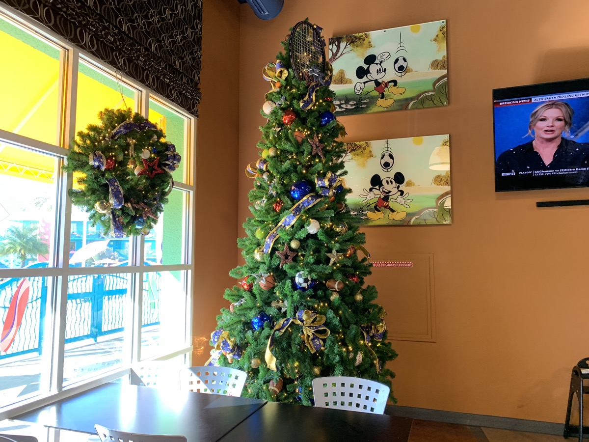 christmas at walt disney world all star sports tree 1.jpg