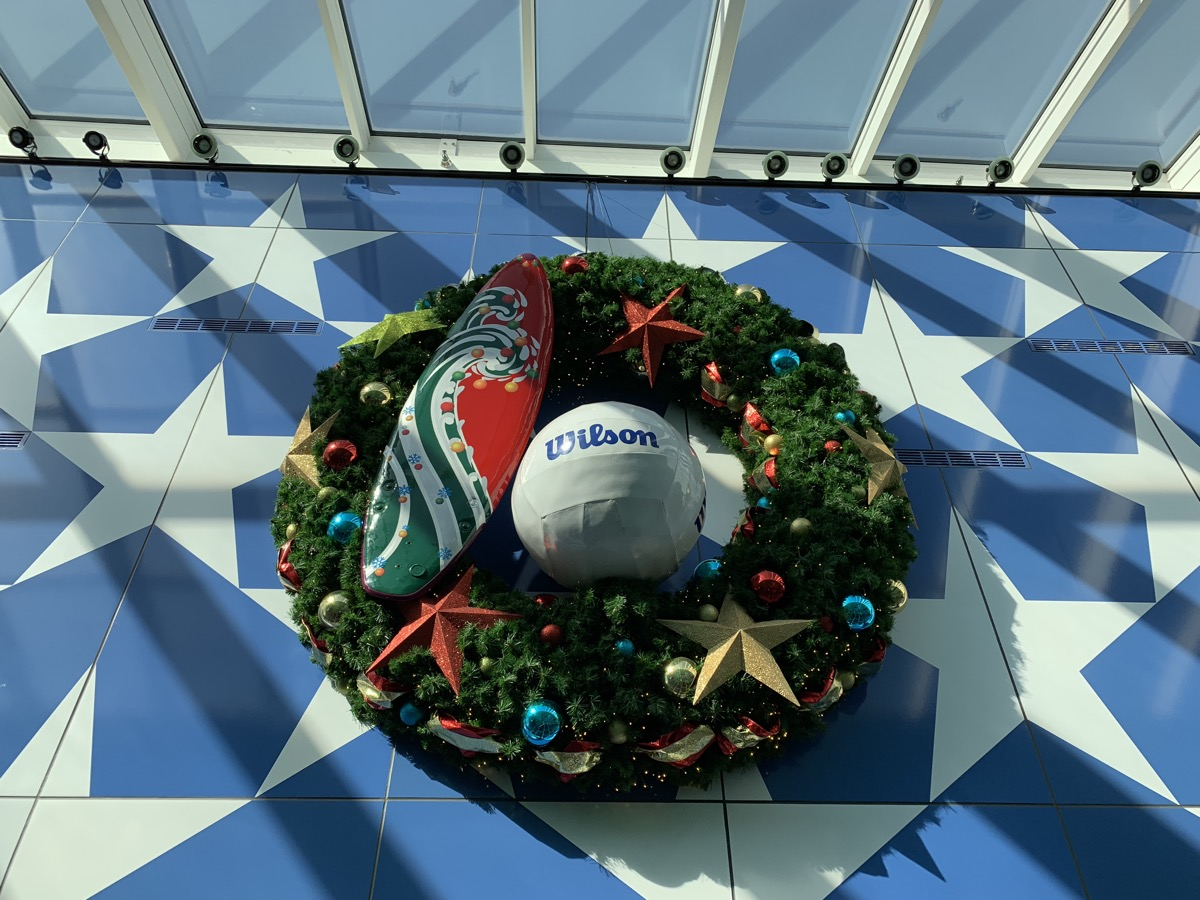 christmas at walt disney world all star sports wreath 1.jpg