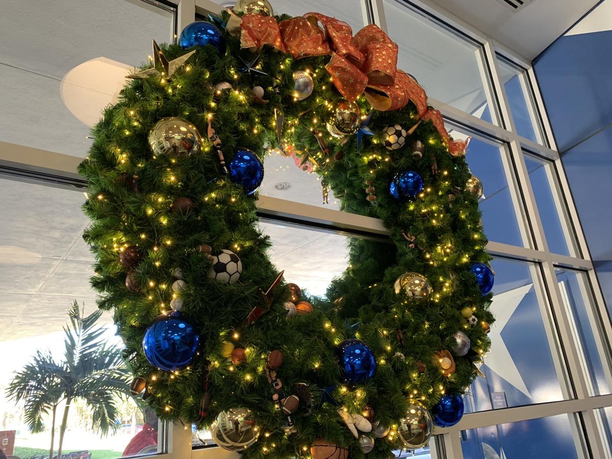 christmas at walt disney world all star sports wreath 2.jpg
