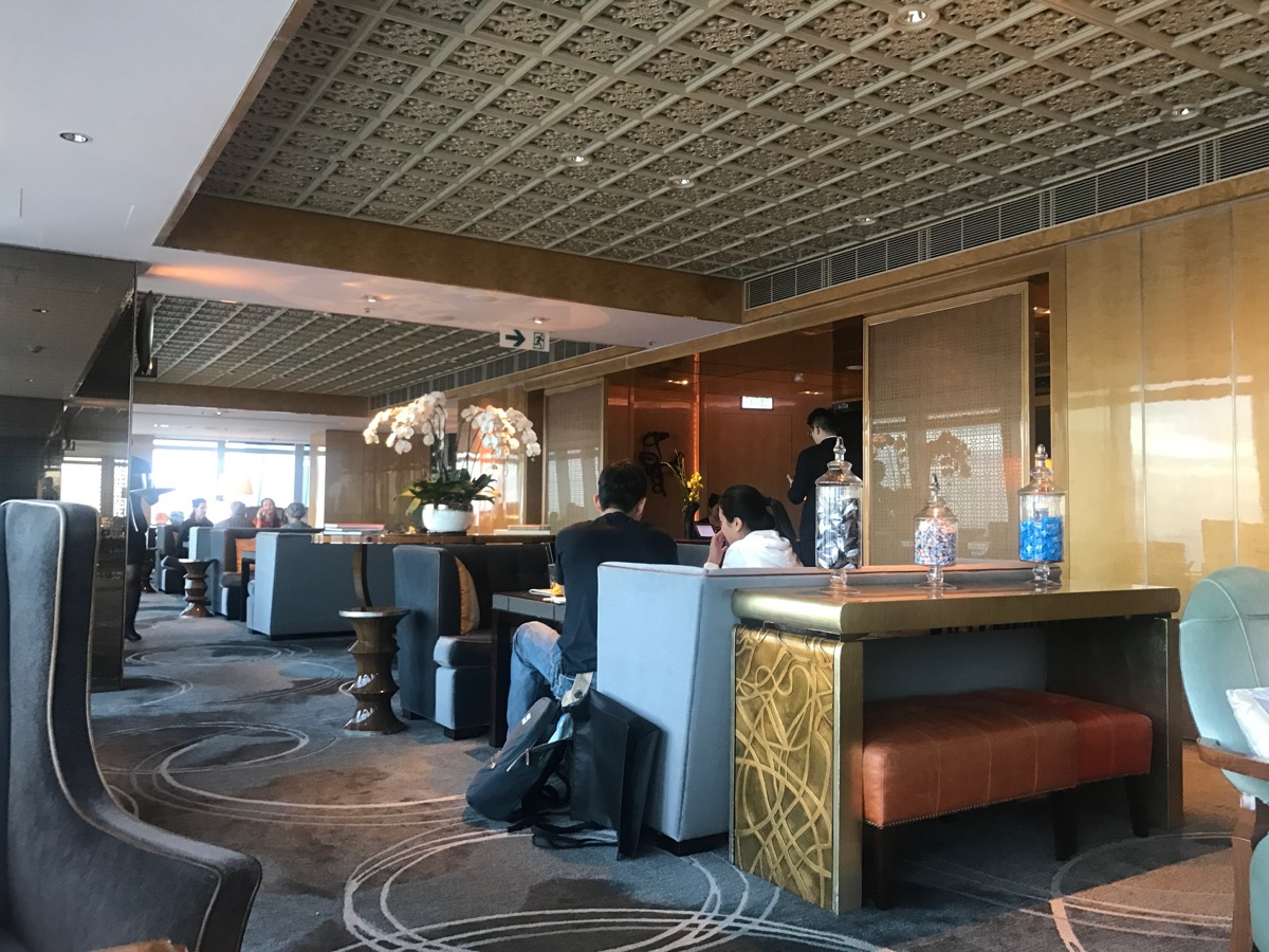 The Ritz-Carlton Hong Kong Club Level is about 5X the size of most Disney lounges