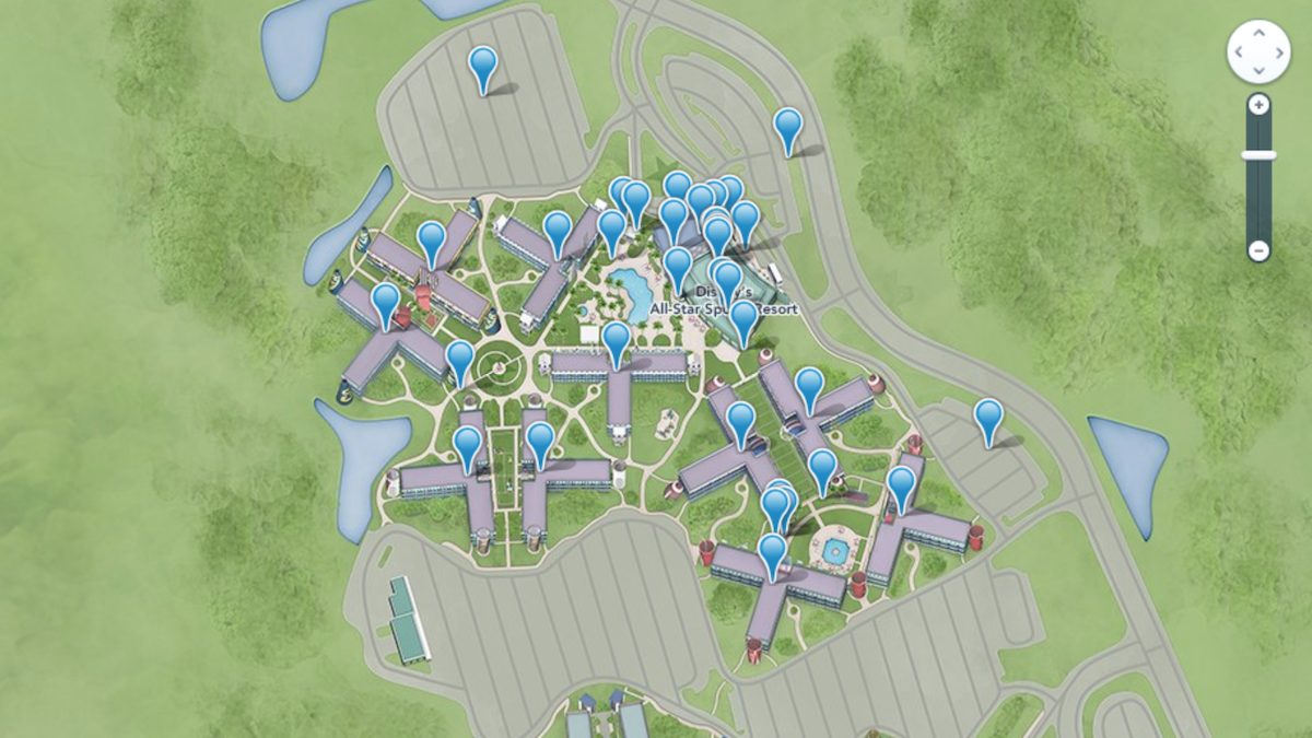 Disney's All-Star Sports Resort Review - Mouse ing on disney rides, disney resorts and grounds, disney events, harry potter grounds map, carnival grounds map,