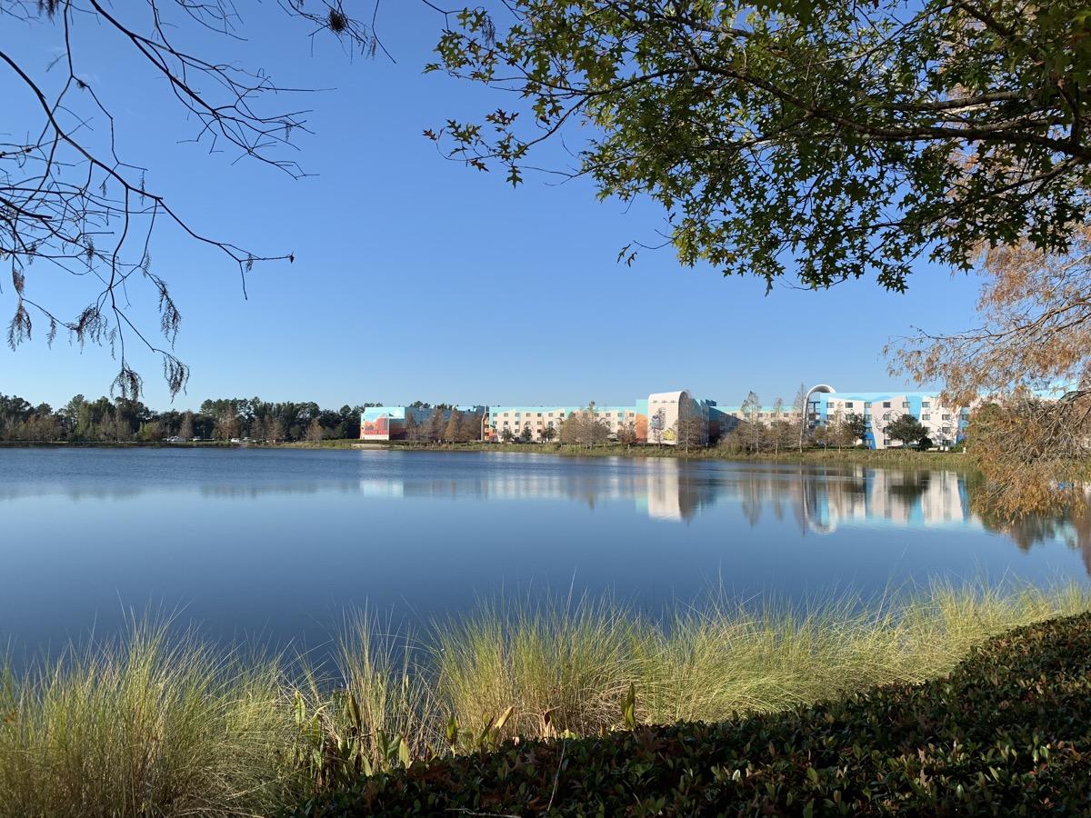 disneys pop century resort review hourglass lake 1.jpeg