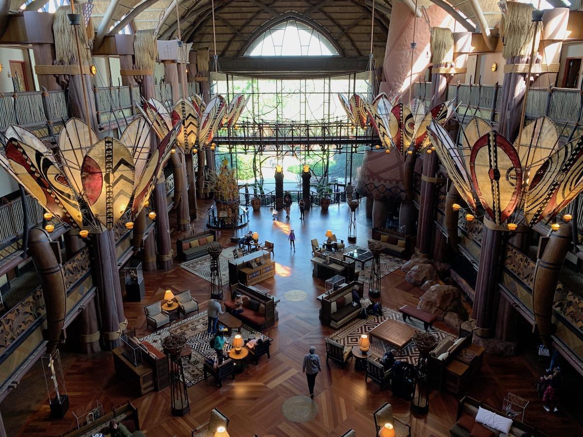 disney animal kingdom lodge review lobby.jpeg