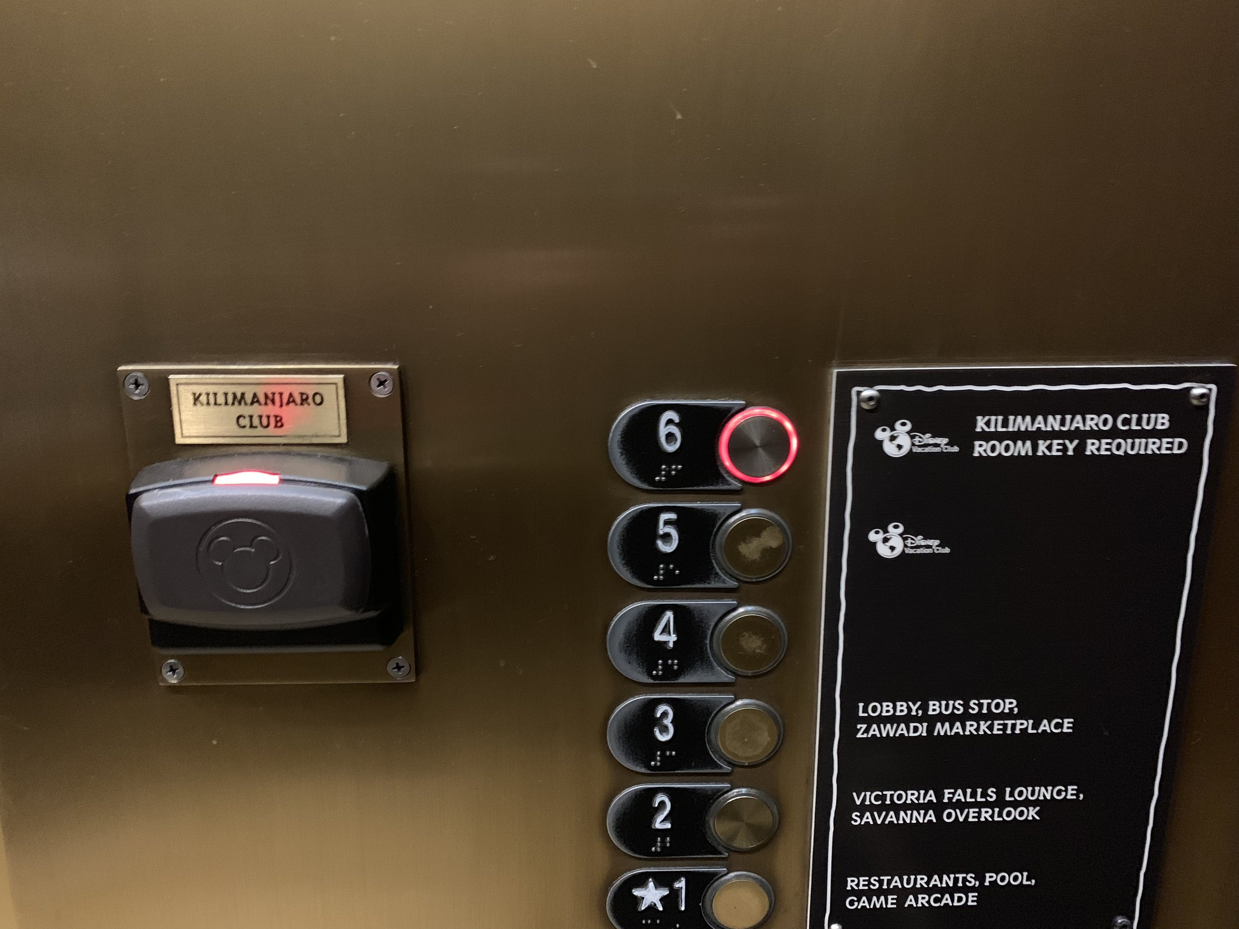 disney animal kingdom lodge kilimanjaro club level review elevator.jpg
