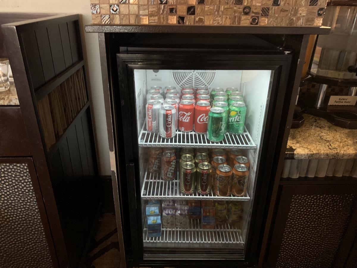 disney animal kingdom lodge kilimanjaro club level review fridge.jpg