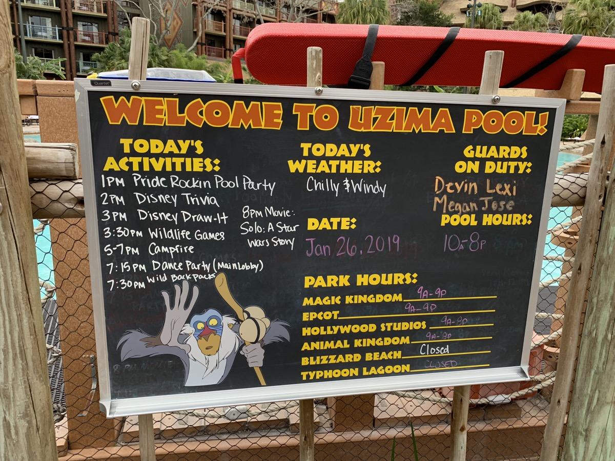 disney animal kingdom lodge review pool schedule.jpeg