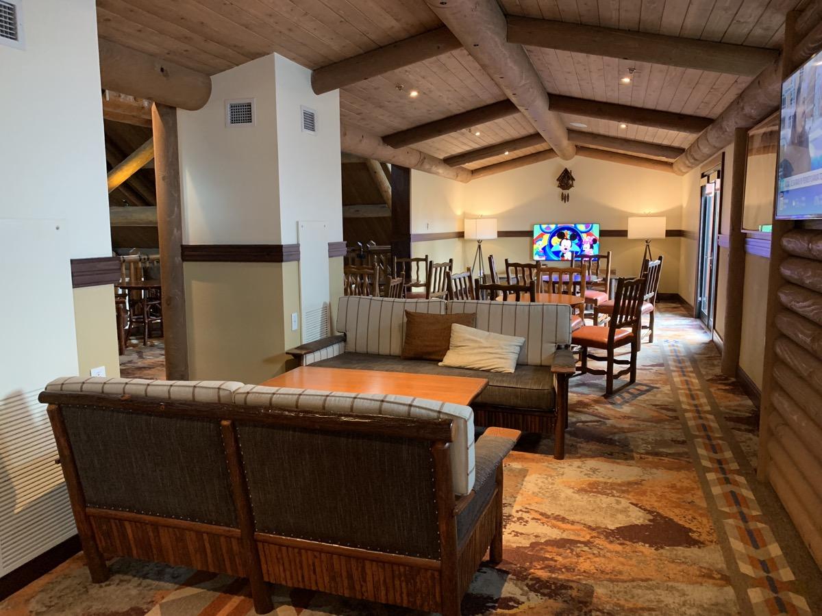 The Old Faithful Club Lounge.