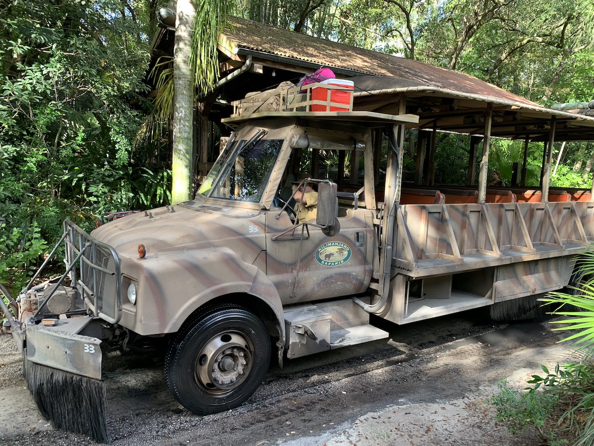 hollywood studios animal kingdom park hopping safari car.jpeg