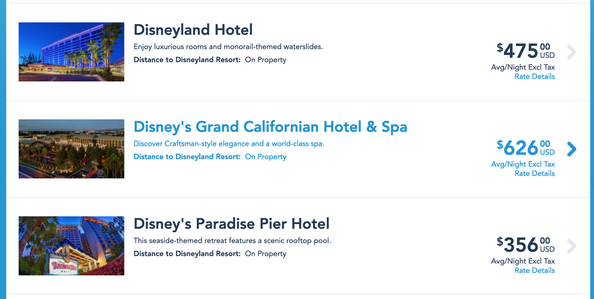 disney paradise pier review compare rates.png