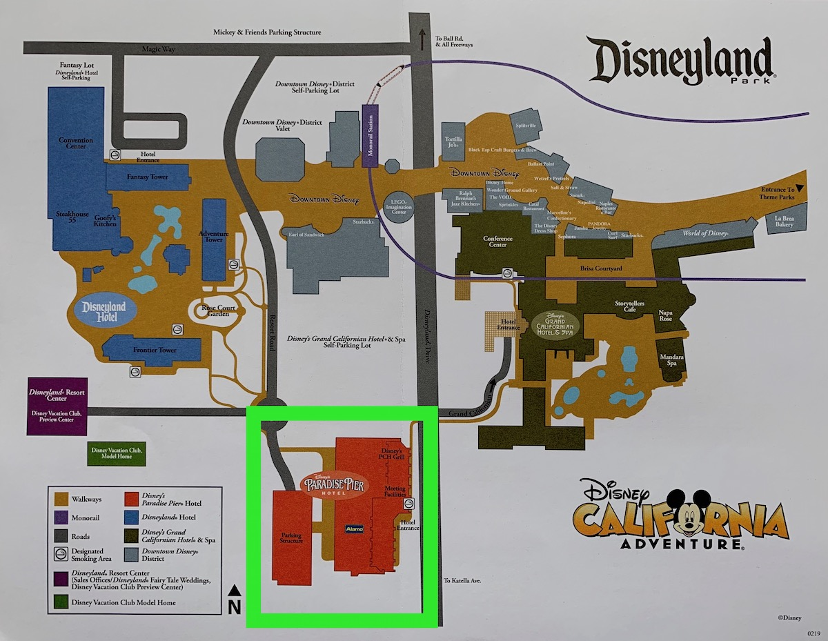 Review of Disney's Paradise Pier Hotel - Mouse ing on disney rides, disney resorts and grounds, disney events, harry potter grounds map, carnival grounds map,