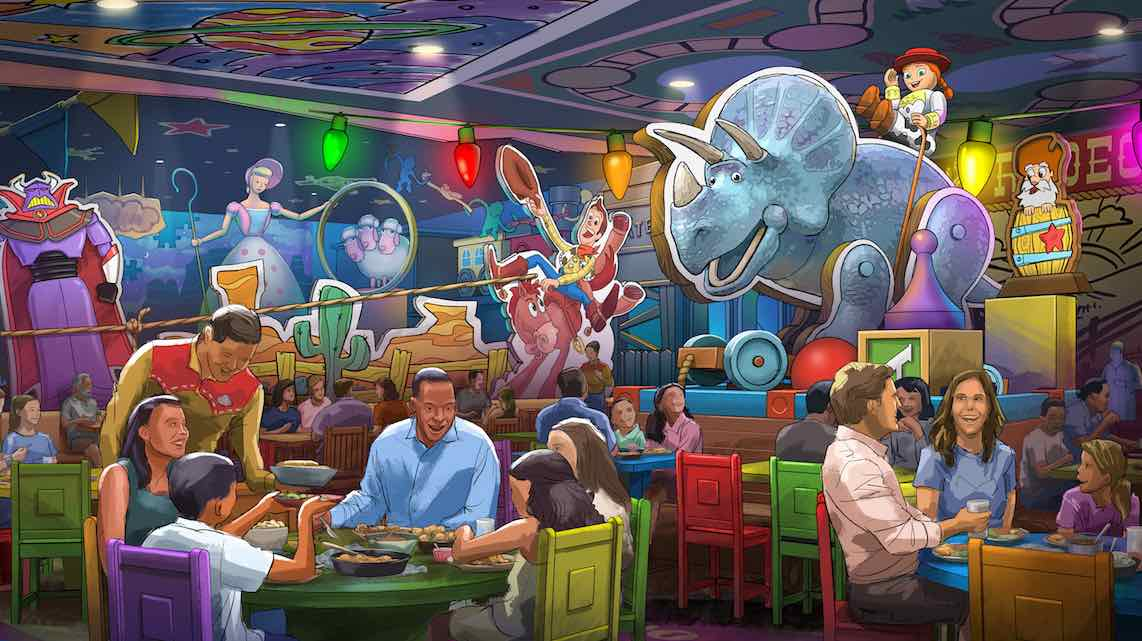Concept Art Released by Disney