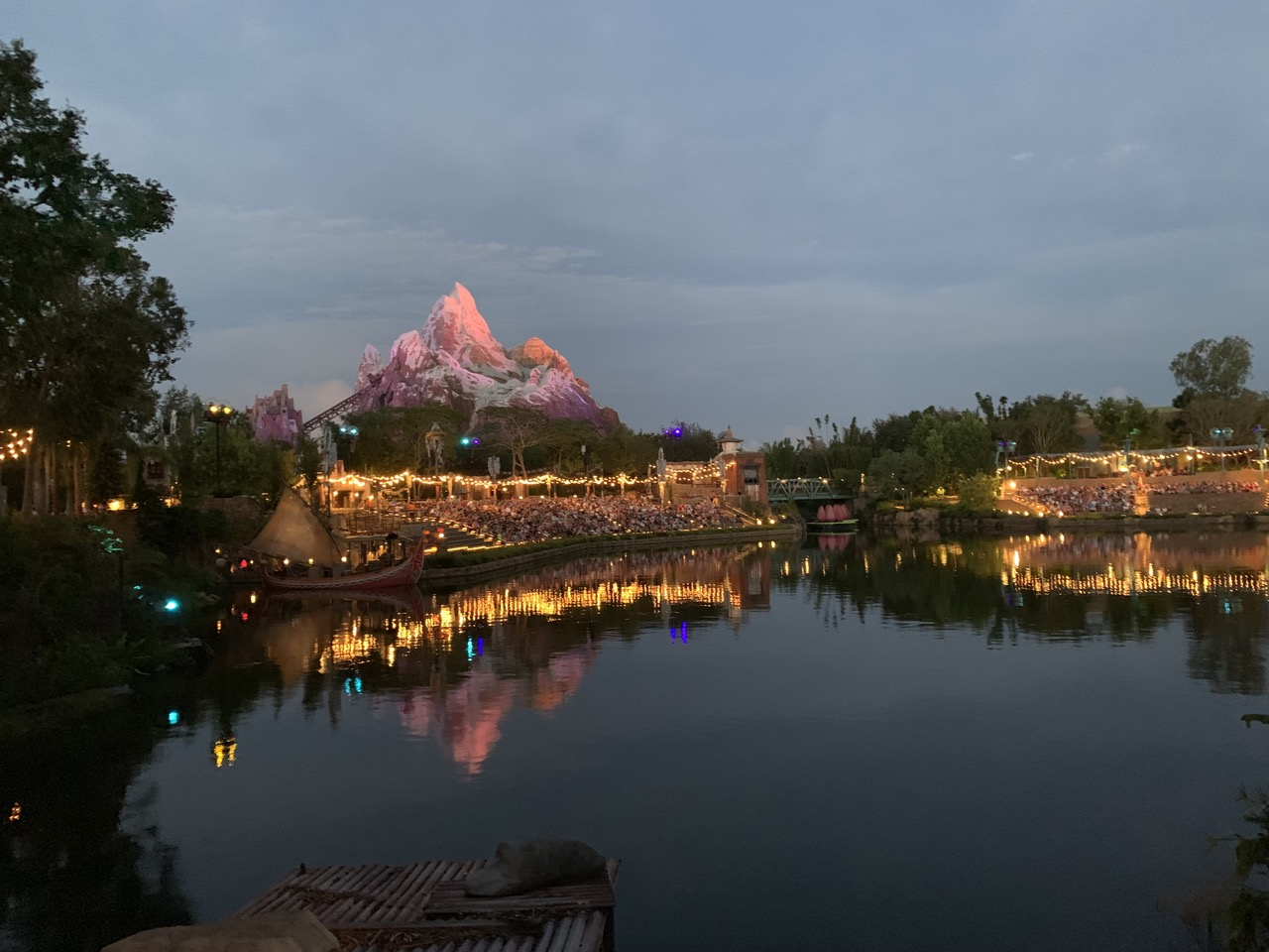 disney world animal kingdom after hours 03 rivers of light crowd.jpeg