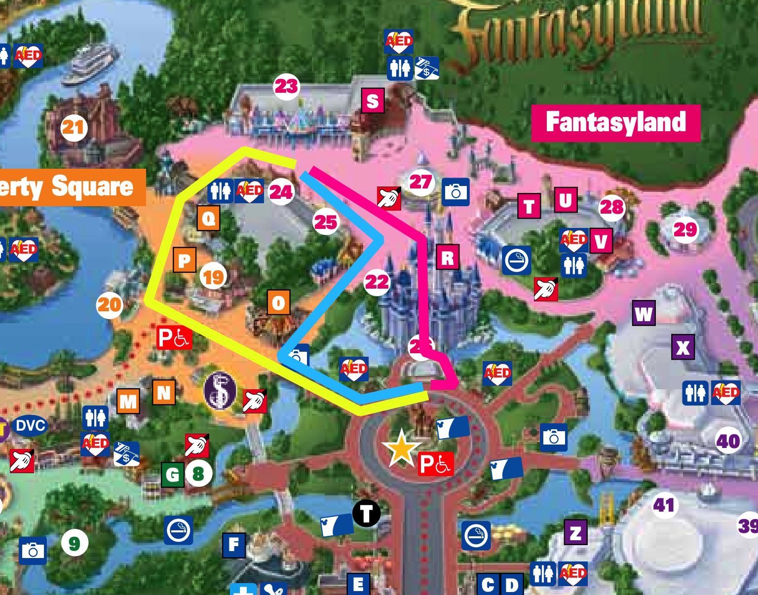 magic kingdom rope drop fanytasyland peter pan paths.png