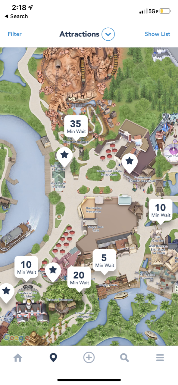 disneyland trip report day 2 afternoon 02 wait times.png