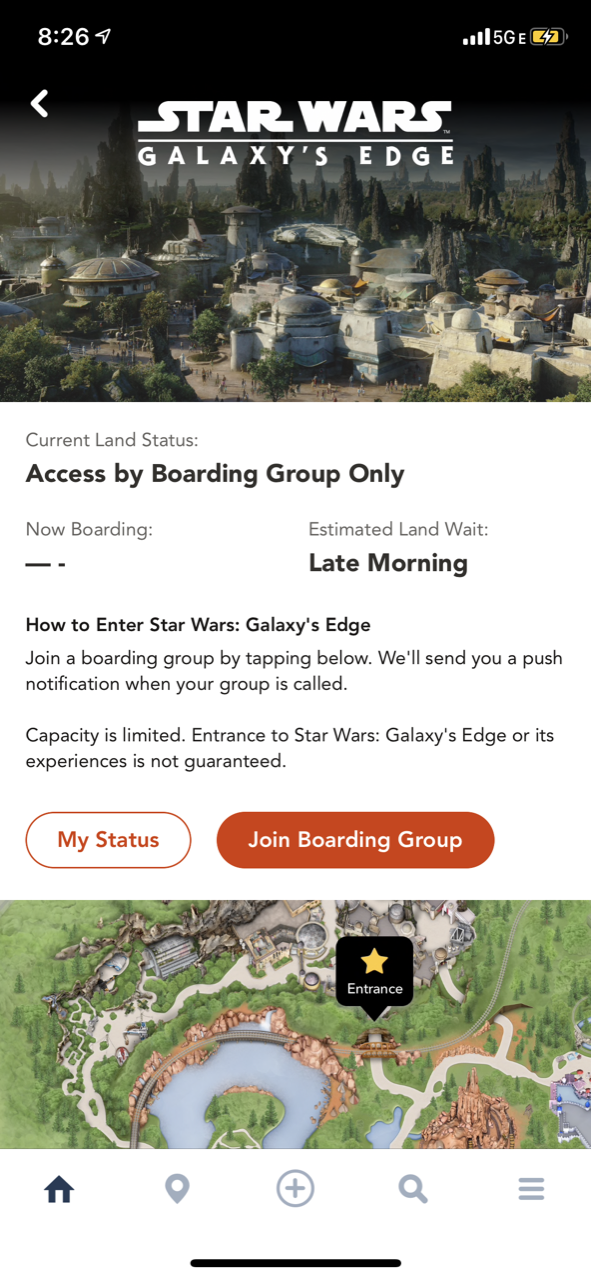 disneyland star wars land galaxy edge touring boarding pass 03.PNG