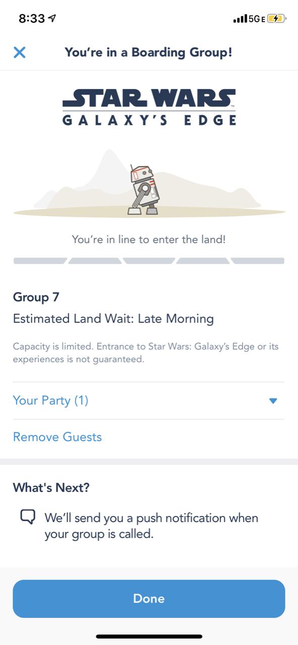disneyland star wars land galaxy edge touring boarding pass 05.PNG