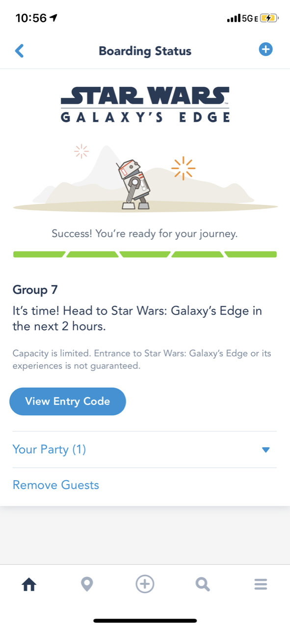 disneyland star wars land galaxy edge touring boarding pass 08.PNG