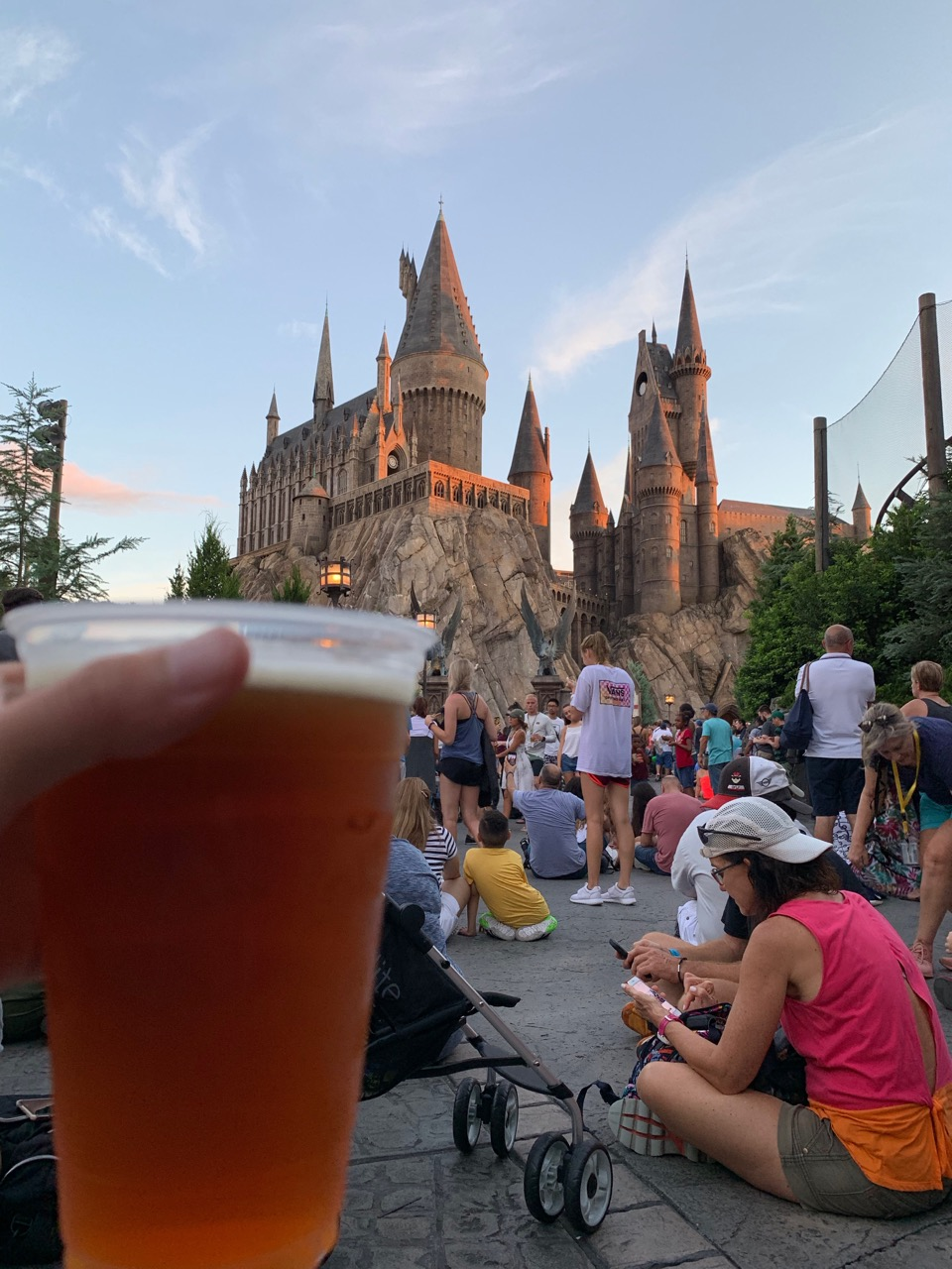 universal orlando summer 2019 trip report part 5 hogwarts beer.jpeg