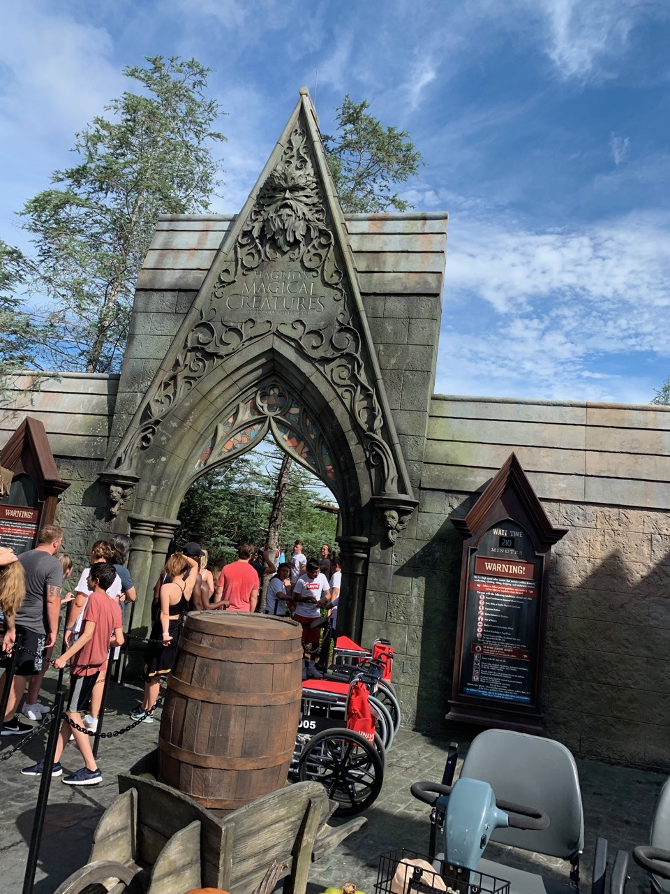 Hagrid's Does Not Use Express Pass! Arrive Early For It!