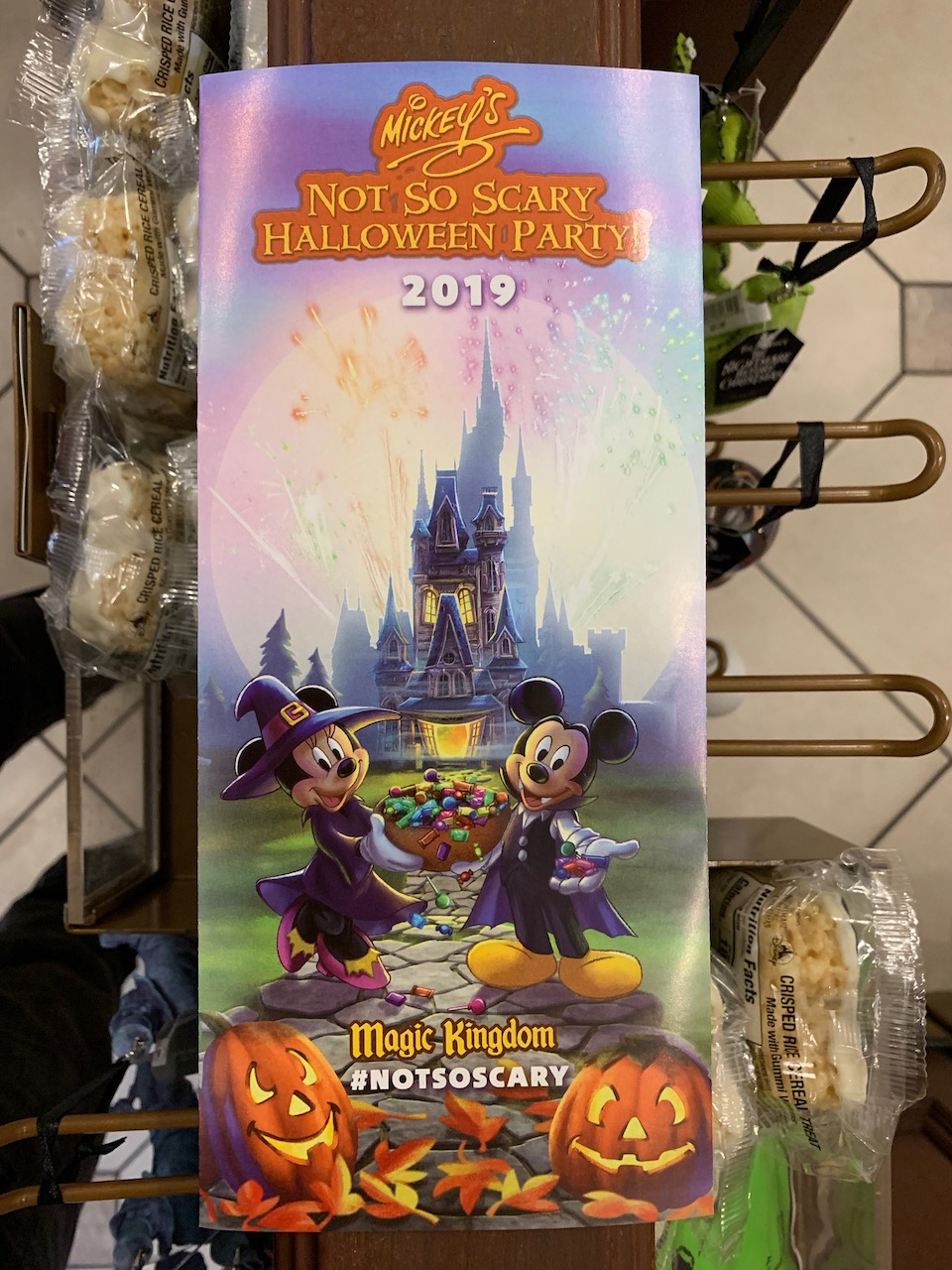 Not So Scary Halloween Party 2020 Map 2020 Mickey's Not So Scary Halloween Party Guide   Mouse Hacking