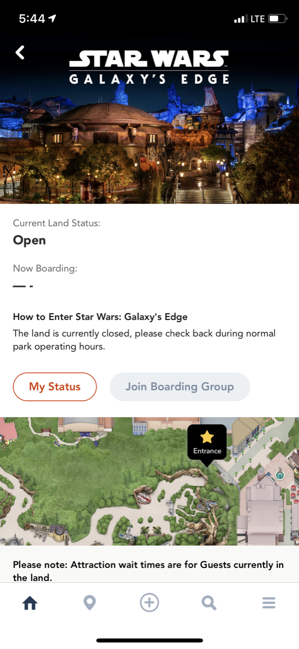 disney world trip report star wars galaxys edge opening boarding pass 01.png