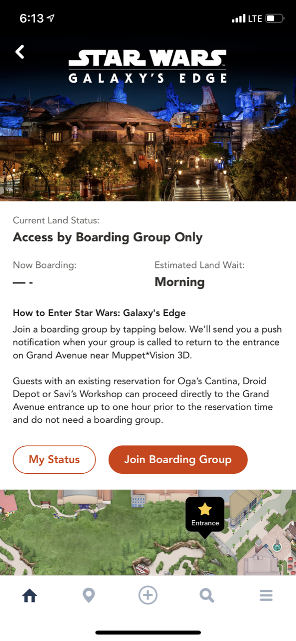 disney world trip report star wars galaxys edge opening boarding pass 03.png