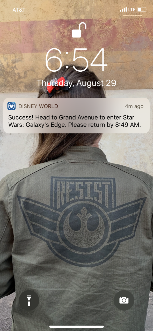 disney world trip report star wars galaxys edge opening boarding pass 04.png