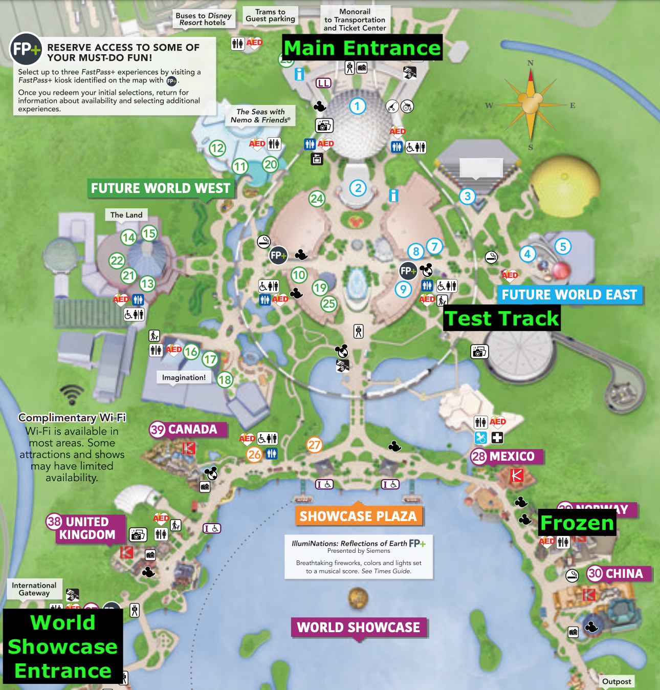 Epcot Rope Drop Strategy [Includes Skyliner Tips] - Mouse ...