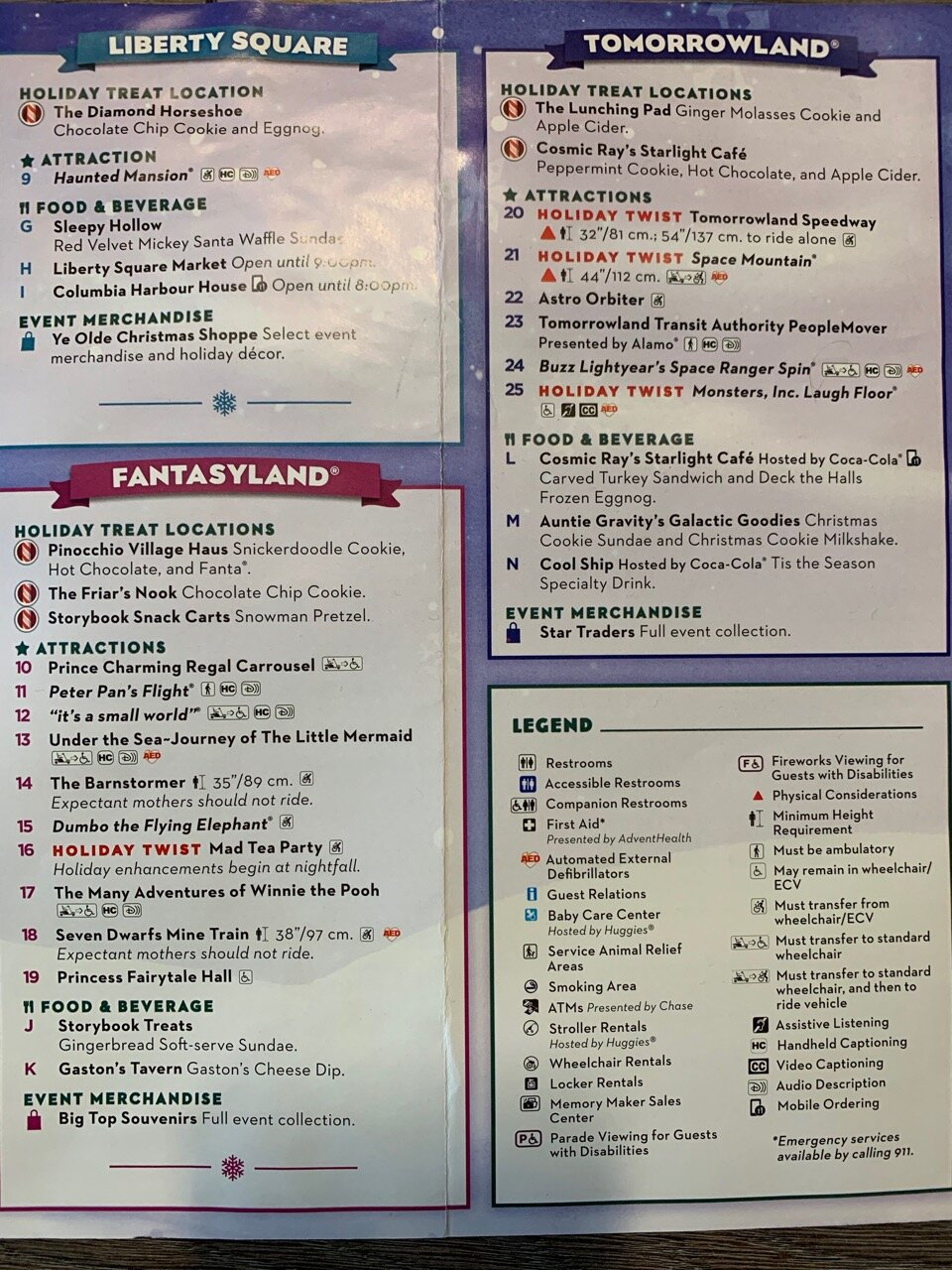 2019 Mickey's Very Merry Christmas Party Guide - Mouse Hacking