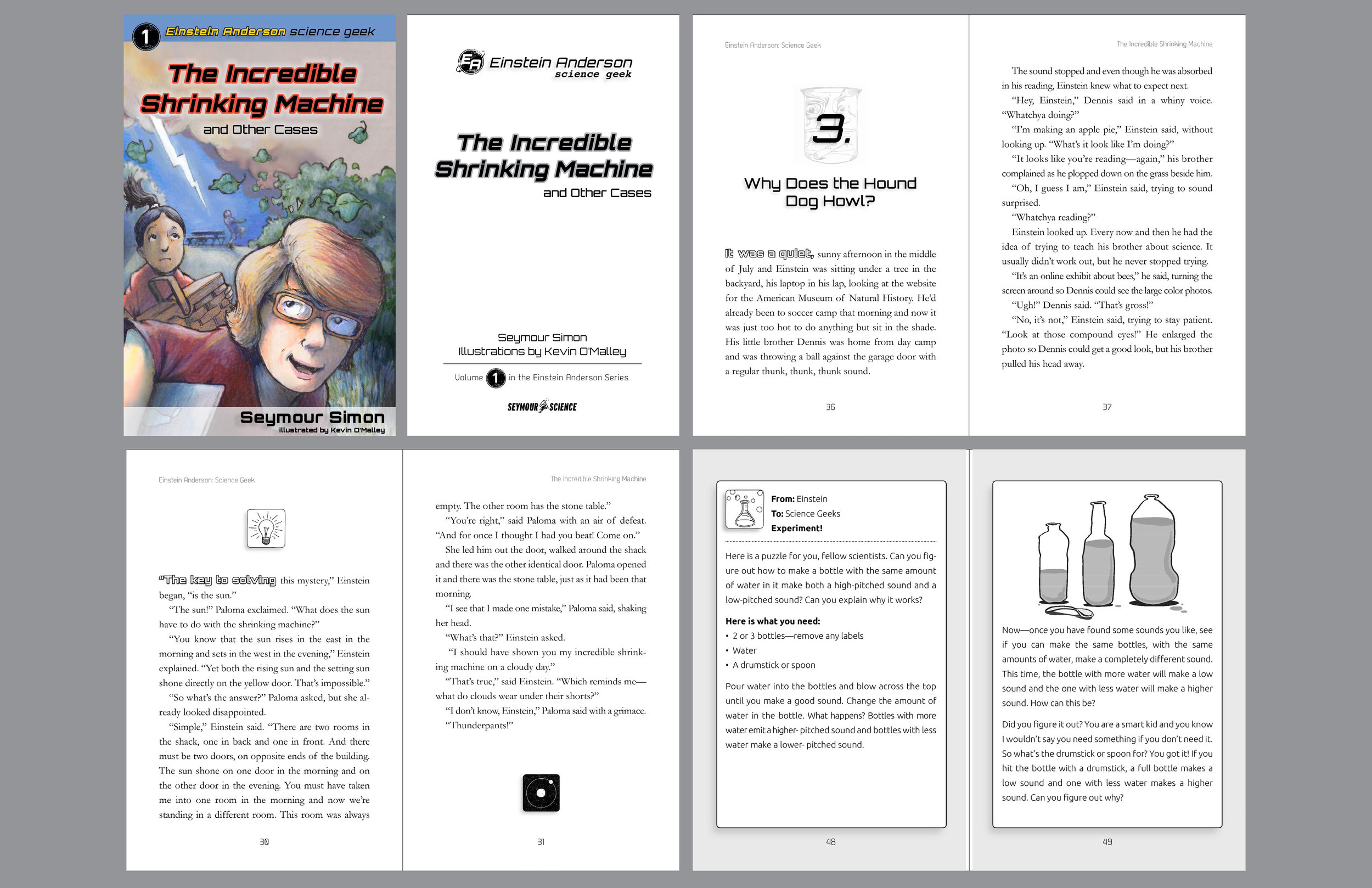 This book was designed for Starwalk Kids. It serves as a template for more books in the series that will be produced in digital and print formats. I was responsible for the logo and branding elements in addition to the rest of the book layout and typography.