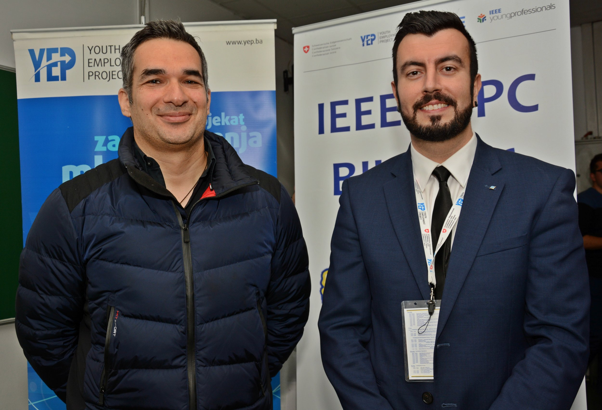 Gakovic and Custovic established a collaborative approach in December 2016 at the IEEE Student & Young Professional Congress in Sarajevo.