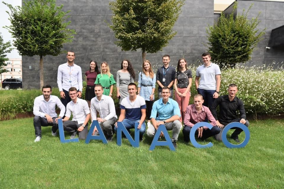 Momčilo with his interns