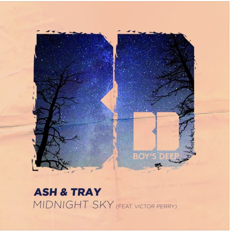 Ash & Tray - Midnight Sky (feat. Victor Perry) - Single