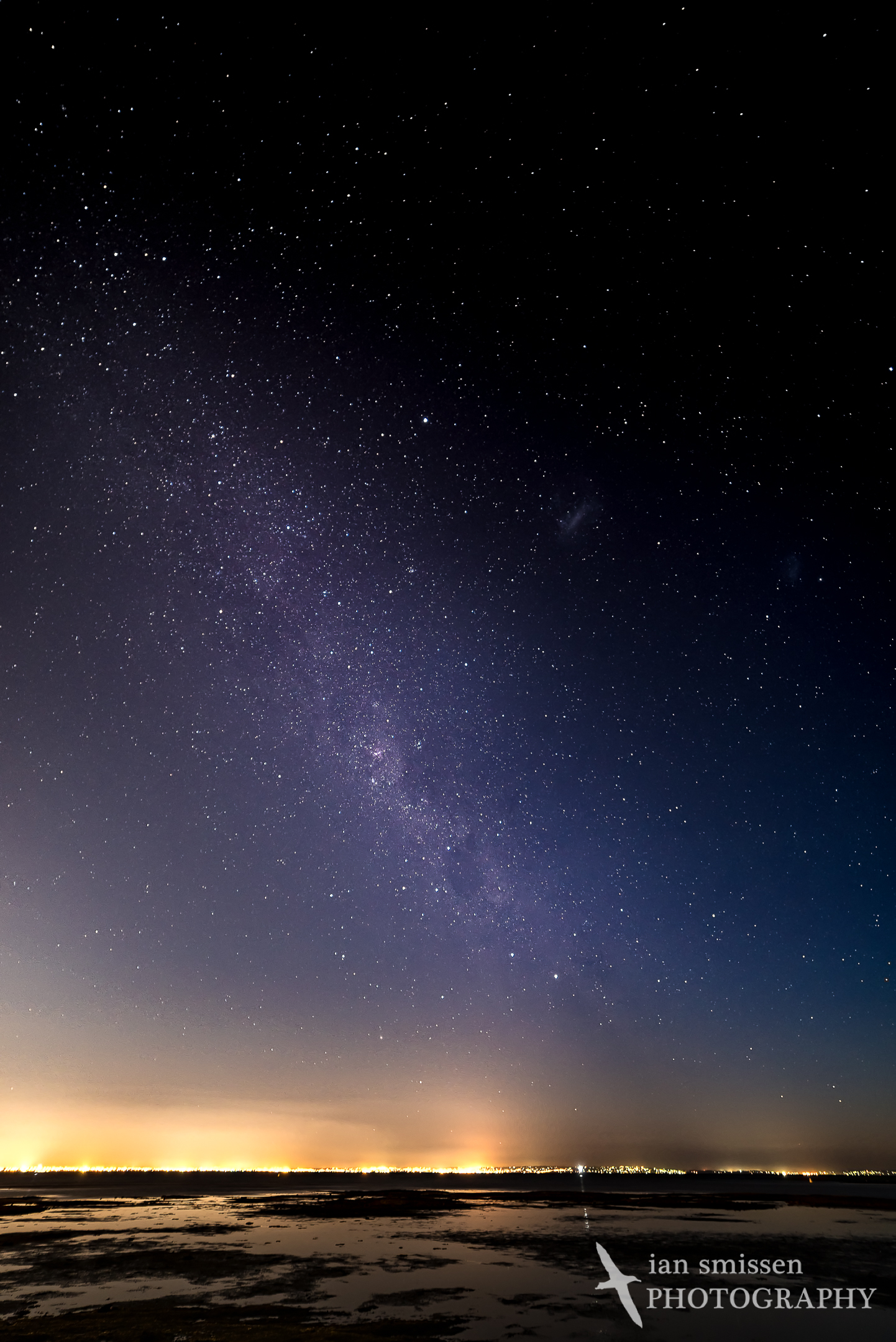 Milky Way over Ricketts Point