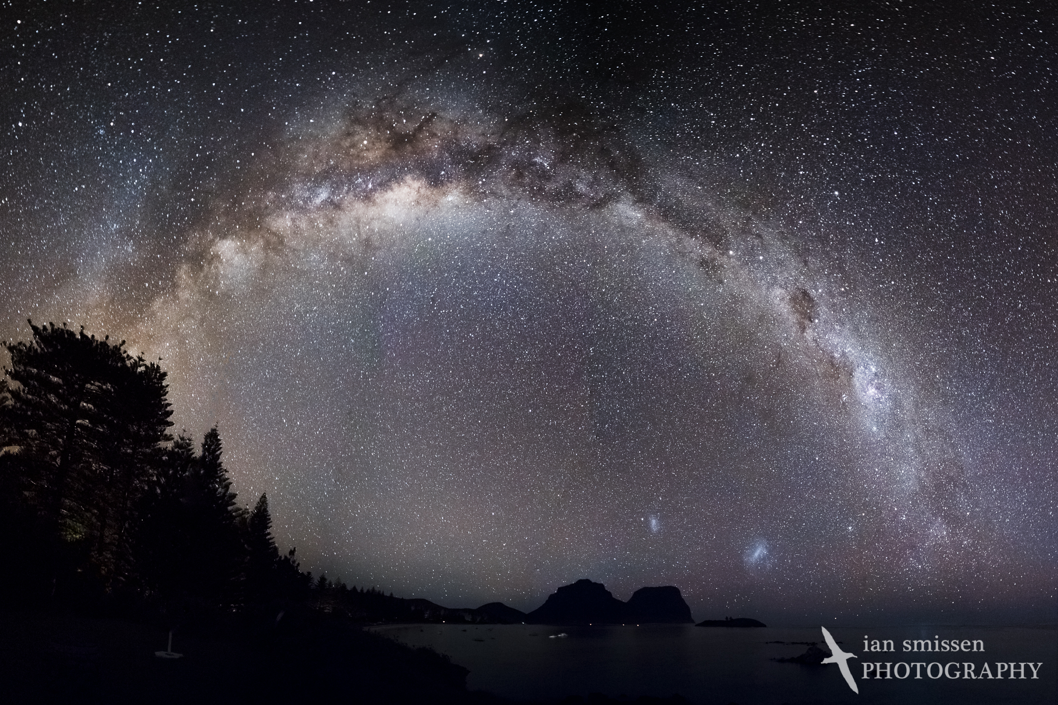 Milky Way over Lord Howe Island