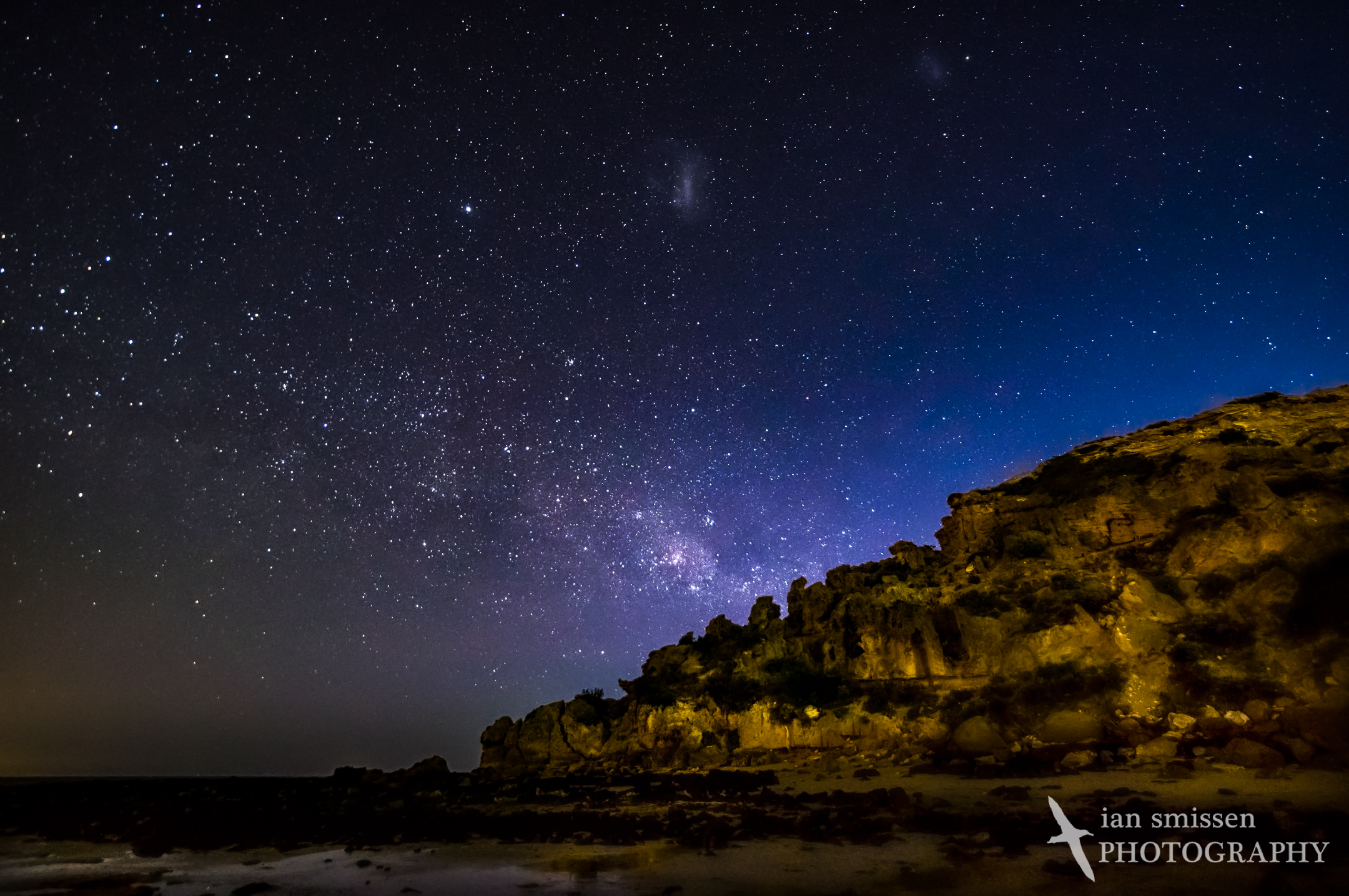 Milky Way over The Bluff