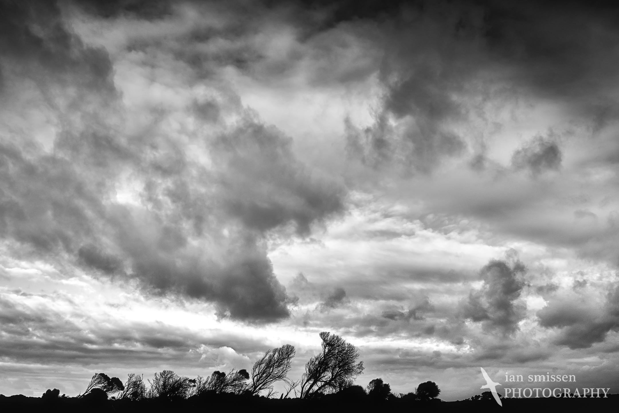 Sky over Loch Ard Gorge