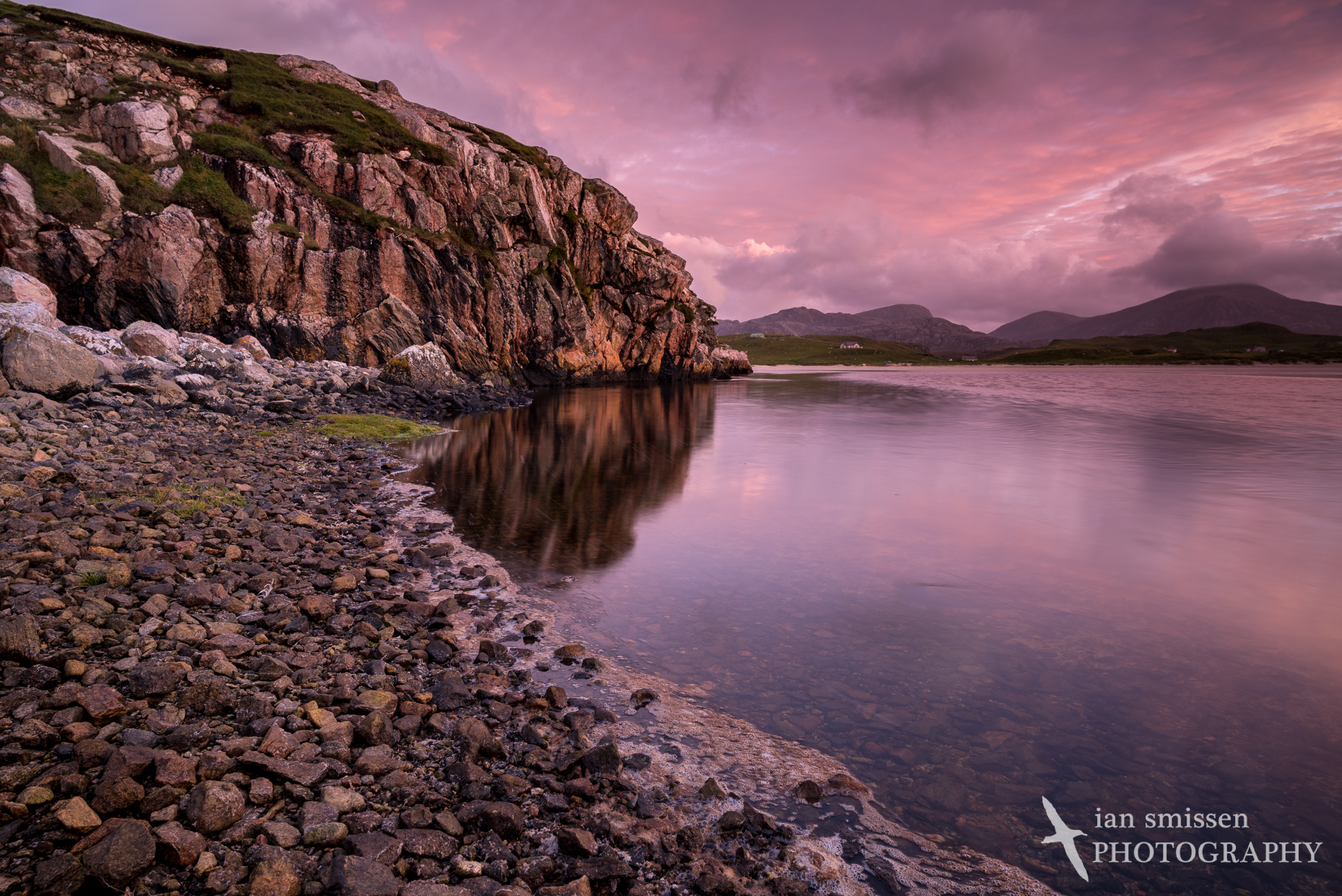 Uig Bay after Sunset