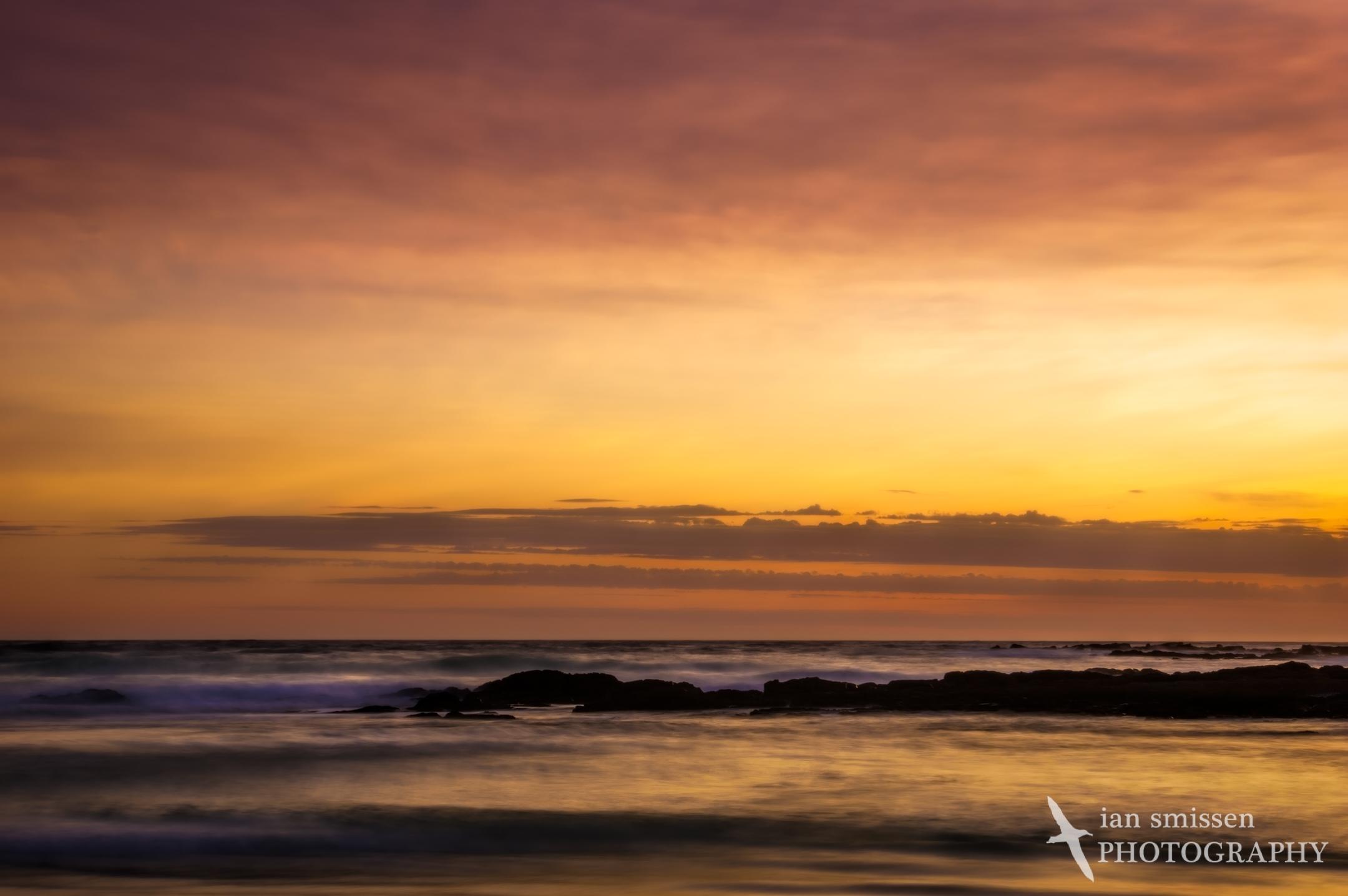 Dalmeny Beach sunrise